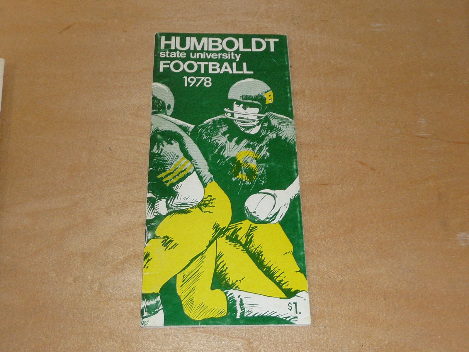 Details About 1978 Humboldt State University Ca College Football Media Guide Ex Plus Box 19